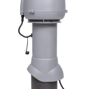 Вентилятор воздуховода E120 Р 0-400м3/ч  светло-серый