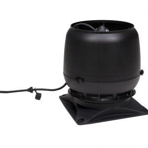 Вентилятор воздуховода E220S 0-800м3/ч + основание черный