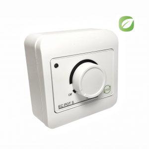 Регулятор вентилятора воздуховода EСo 0 -10 В В EC POT S белый