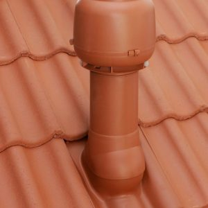 Вентилятор ECo110P/110/500  0 -600 м3/ч для биотуалетов и удаления радона черный