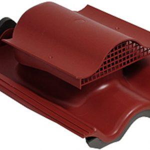 Кровельный вентиль для натуральной черепицы Tili KTV красный