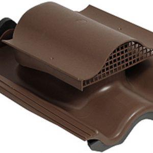 Кровельный вентиль для натуральной черепицы Tili KTV коричневый