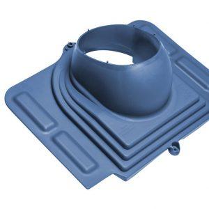 Проходной элемент для металлочерепицы Pelti синий
