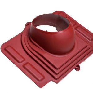 Проходной элемент для металлочерепицы Pelti бордо