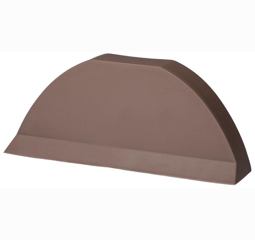 Торцевая заглушка для цементно песчаной черепицы Pelti  коричневый