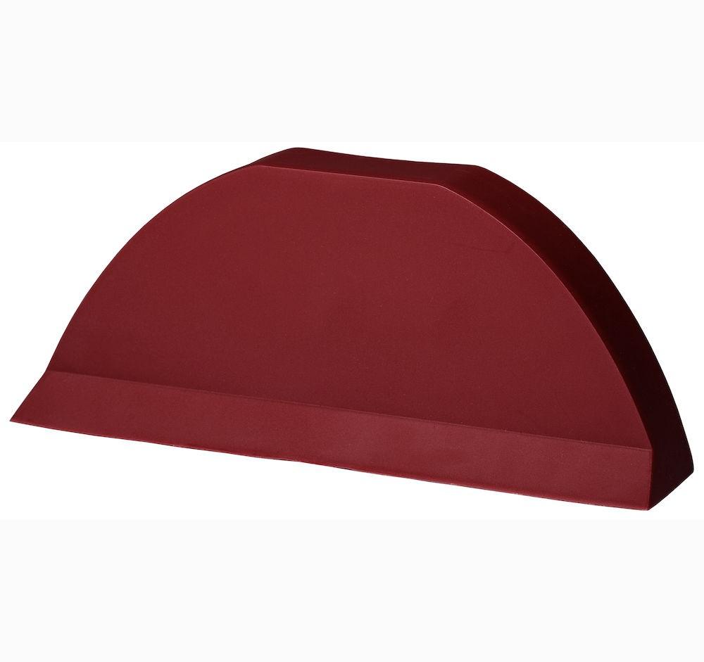 Торцевая заглушка для цементно песчаной черепицы Pelti  красный