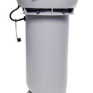 Вентилятор воздуховода E190 Р 0 - 500м3/ч  светло-серый