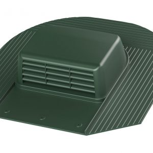 Кровельный вентиль для мягкой кровли Huopa - KTV / Harja зеленый