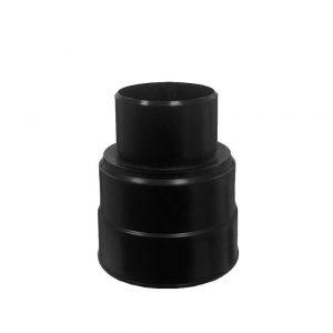 Адаптер для гофрированной трубы - 75  черный