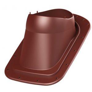 Проходной элемент для фальцевой кровли Classic Vino 2K красный