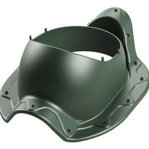 Проходной элемент для металлочерепицы типа Armorium ARMOR 2K зеленый
