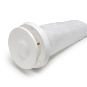 Приточный вентиляционный клапан Velco 240х240 белый