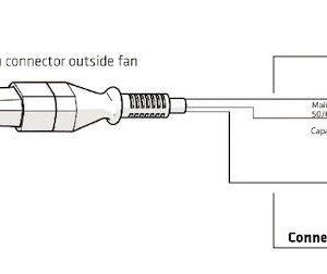 Вентилятор воздуховода XL E220 P /160/500  Р 0 - 800м3/ч  кирпичный
