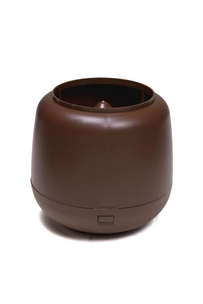 Колпак дефлектор для труб Vilpe 110 мм шоколадный