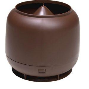 Колпак дефлектор для труб Vilpe 160 мм шоколадный