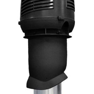 Приточный вентиляционный элемет 160/ER/500 INTAKE черный