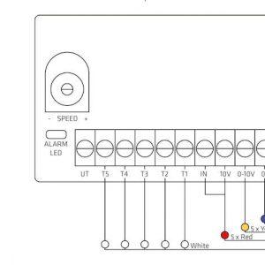 Регулятор крышного вентилятора EСo MONITOR  белый
