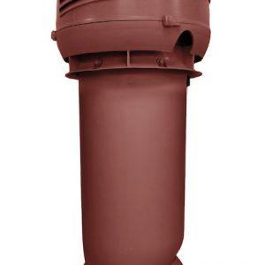 Приточный вентиляционный элемет 160/ER/700 INTAKE красный