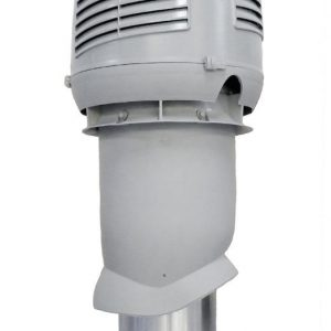 Приточный вентиляционный элемет 160/ER/500 INTAKE светло-серый