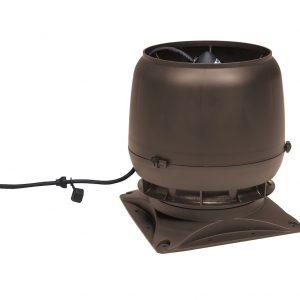 Вентилятор воздуховода E220S 0-800м3/ч + основание коричневый