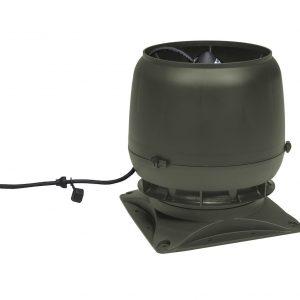 Вентилятор воздуховода E220S 0-800м3/ч + основание зеленый