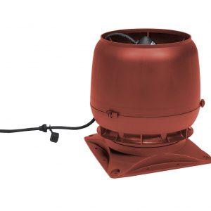 Вентилятор воздуховода E220S 0-800м3/ч + основание красный