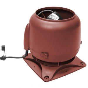 Вентилятор воздуховода E120S 0-400 м3/ч красный