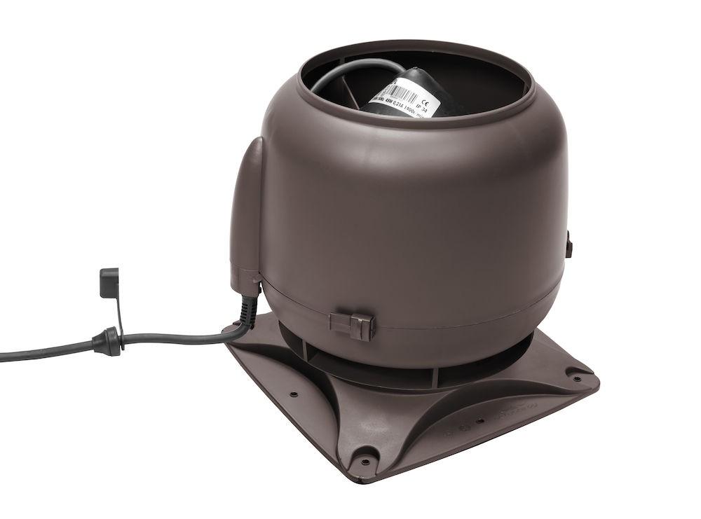 Вентилятор воздуховода E120S 0-400 м3/ч коричневый