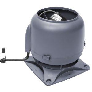 Вентилятор воздуховода E120S 0-400 м3/ч серый
