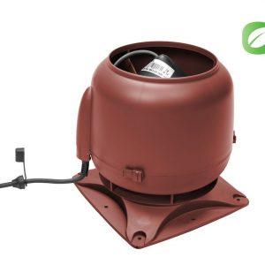 Вентилятор ECo110S  0 -600 м3/ч для биотуалетов и удаления радона красный
