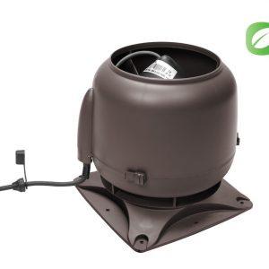 Вентилятор ECo110S  0 -600 м3/ч для биотуалетов и удаления радона коричневый