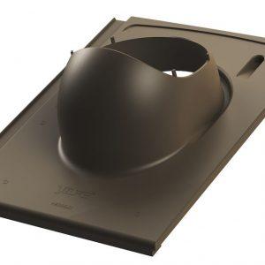 Проходной элемент для черепицы Monier/Braas Teviva EVO 2K коричневый