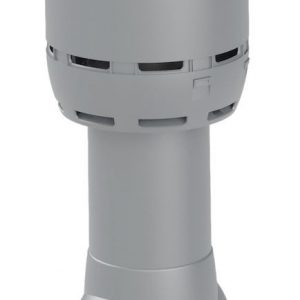 Вентиляционный выход FLOW 125/700 светло-серый
