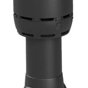 Вентиляционный выход FLOW 125/700 черный
