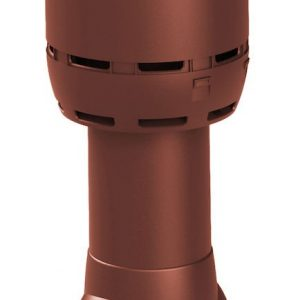 Вентиляционный выход FLOW 125/700 красный