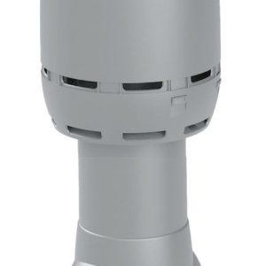 Вентиляционный выход FLOW 125/500 светло-серый
