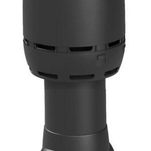 Вентиляционный выход FLOW 125/500 черный