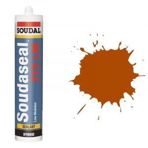Эластичный клей-герметик Soudaseal 215 LM коричневый (600 мл)