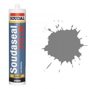 Эластичный клей-герметик Soudaseal 215 LM серый (600 мл)
