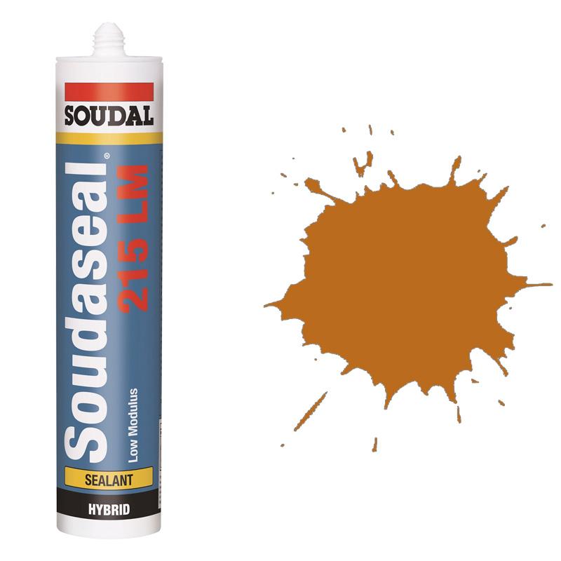 Эластичный клей-герметик Soudaseal 215 LM карамель (600 мл)