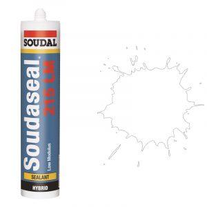 Эластичный клей-герметик Soudaseal 215 LM белый (600 мл)