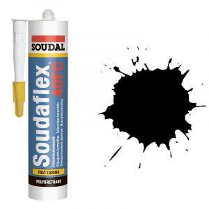 ПУ Герметик быстрого отвердения Soudaflex 40 FS черный (20л)