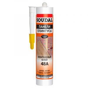 Клей для стеновых панелей каучуковый 48А (300 мл)