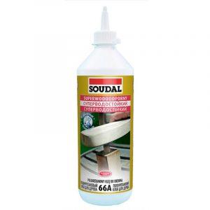 Суперводостойкий полиуретановый клей для дерева 66А (250 мл)