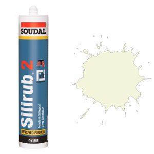 Silirub 2 нейтральный силиконовый герметик бежевый (310 мл)