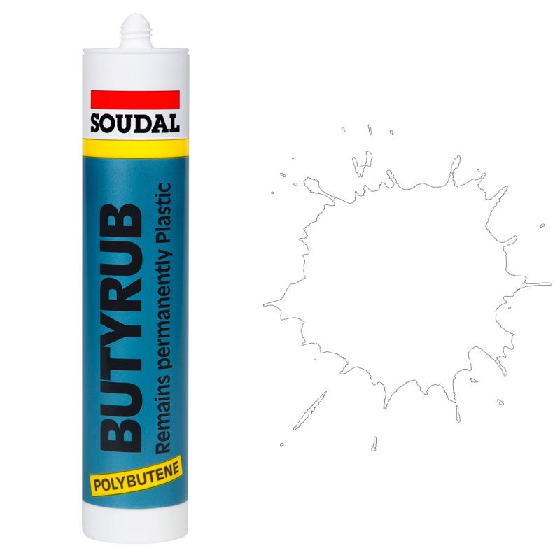 Butyrub общестроительный герметик белый (280 мл)