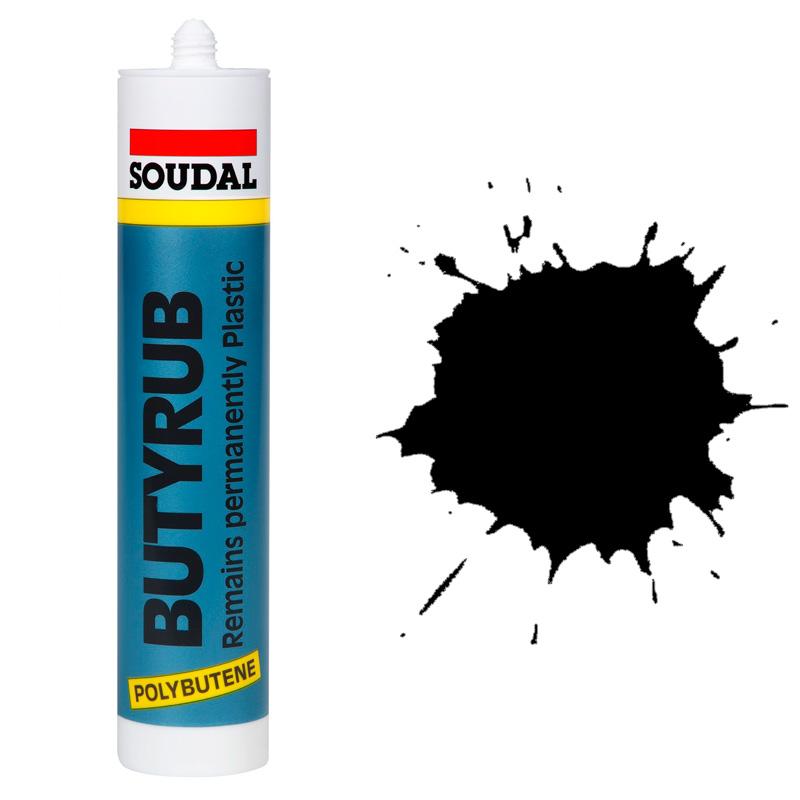Butyrub общестроительный герметик черный (280 мл)