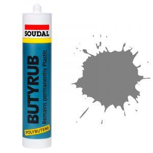 Butyrub общестроительный герметик серый (280 мл)
