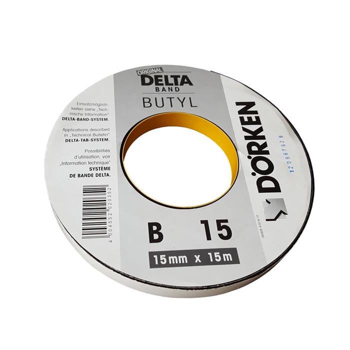 Двустороння бутилкаучуковая лента Delta Butyl Band B15