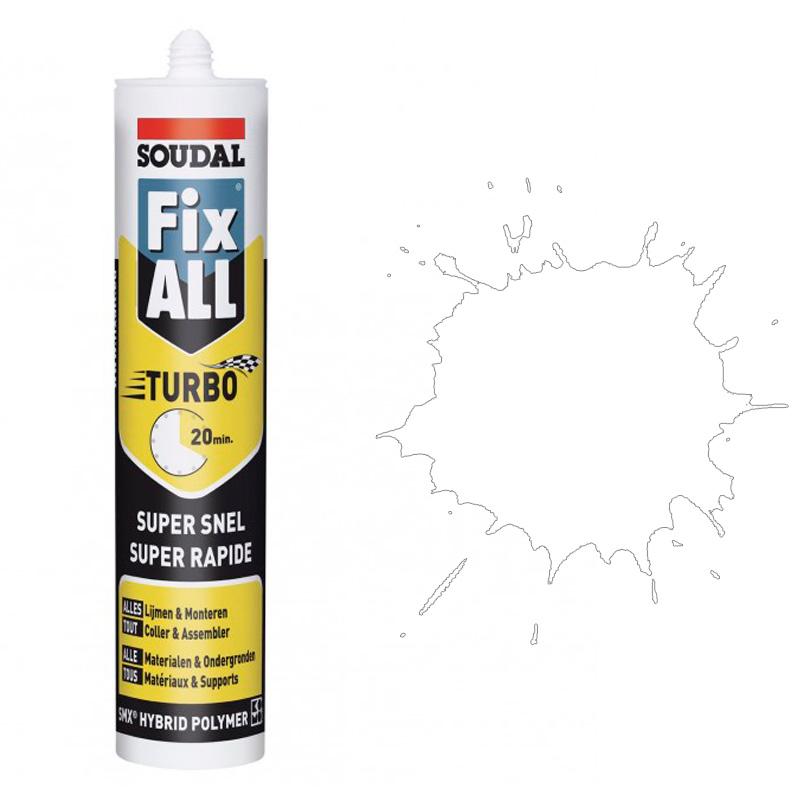 Fix All TURBO белый (290 мл)